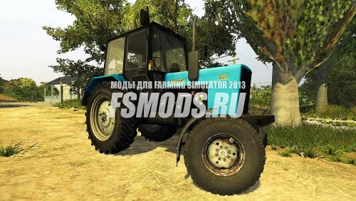 Скачать МТЗ 82.1 V2 для Farming Simulator 2013