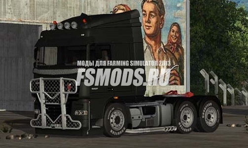 Daf XF 105 510 v 1.1 [MP] для Farming Simulator 2013