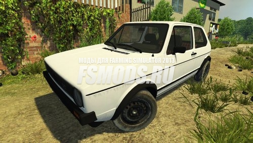 VW GOLF GTI для Farming Simulator 2013