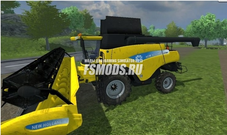 New Holland CR 9090 v 4.0 Dirt для Farming Simulator 2013