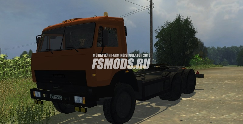 КамАЗ 45143 More Realistic для Farming Simulator 2013