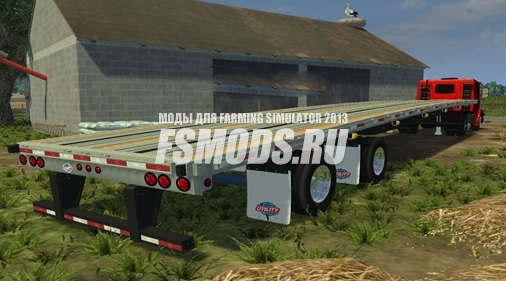 Прицеп платформа для Farming Simulator 2013