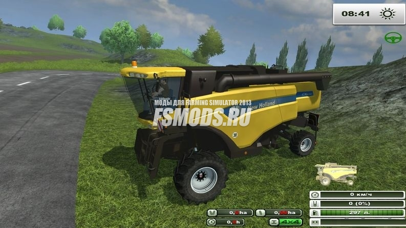 NEW HOLLAND CX 5090 HILLSIDE V2.0 для Farming Simulator 2013