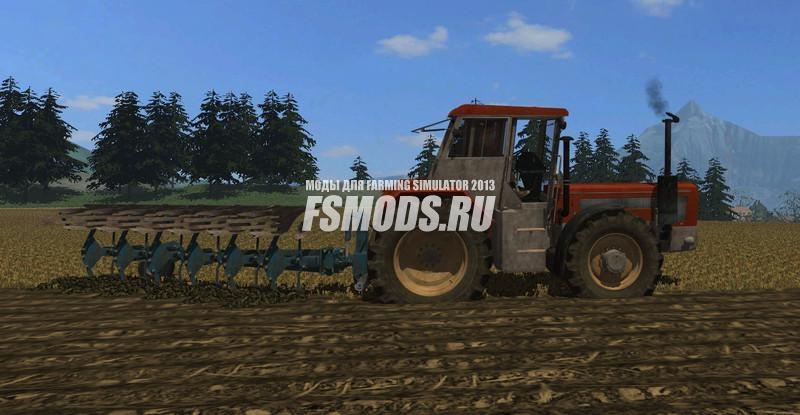 Скачать RABE WERK 6 FURROW PLOW V1.0 для Farming Simulator 2013