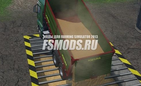 Скачать MAN САМОСВАЛ для Farming Simulator 2015