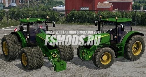 Скачать John Deere 6170R для Farming Simulator 2015