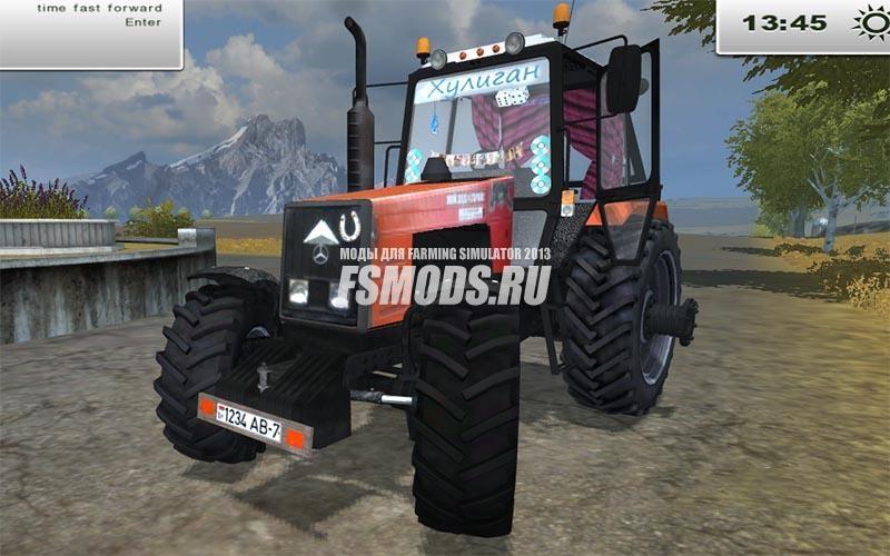 Скачать МТЗ 1221 BELARUS для Farming Simulator 2013
