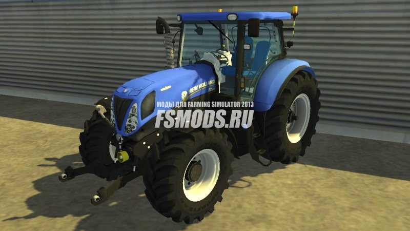 Скачать New Holland T7 210 для Farming Simulator 2013