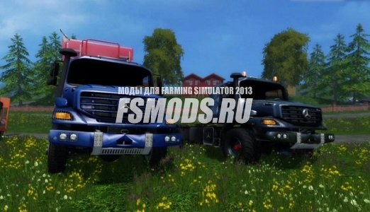 Скачать MERCEDES ZETROS для Farming Simulator 2015