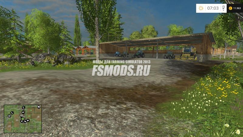Скачать OSTROVICA для Farming Simulator 2015