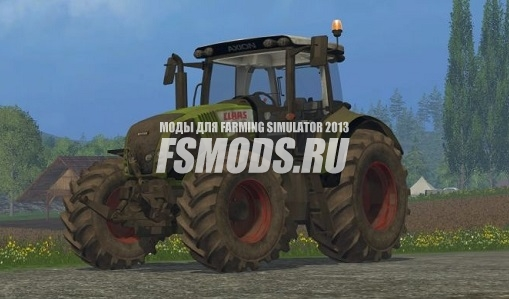 Claas Axion 820 для Farming Simulator 2015