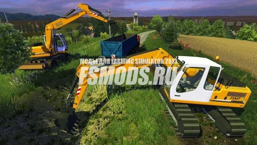 Скачать Liebherr 900C Litronic для Farming Simulator 2013