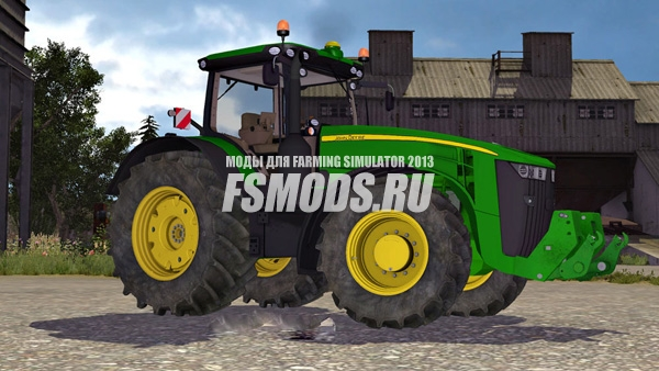Скачать John Deere 8370R 2014 v 2.0 для Farming Simulator 2013