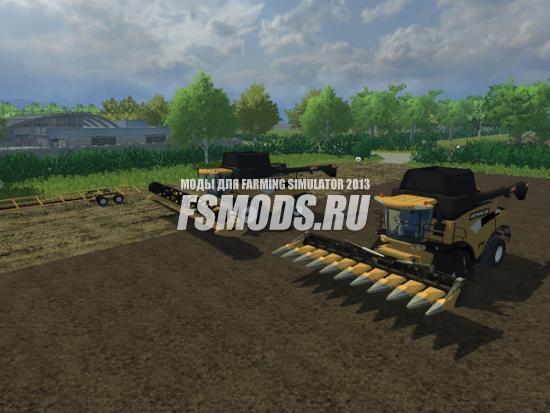 Скачать New Holland CR9090 Evo Cat для Farming Simulator 2013