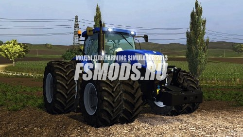 Скачать New Holland T7 220 BP V2 для Farming Simulator 2013