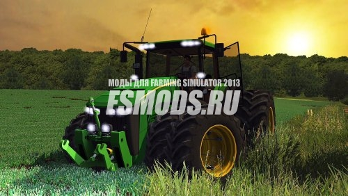 Скачать JOHN DEERE NEW 8370R для Farming Simulator 2013