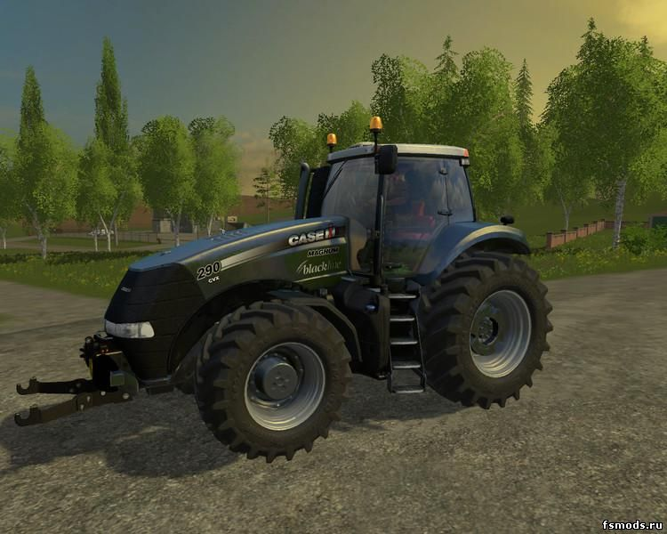Скачать CASE IH MAGNUM BLACK LINE EDITION V1.1 для Farming Simulator 2015