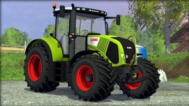 Скачать Claas Axion 850 для Farming Simulator 2015