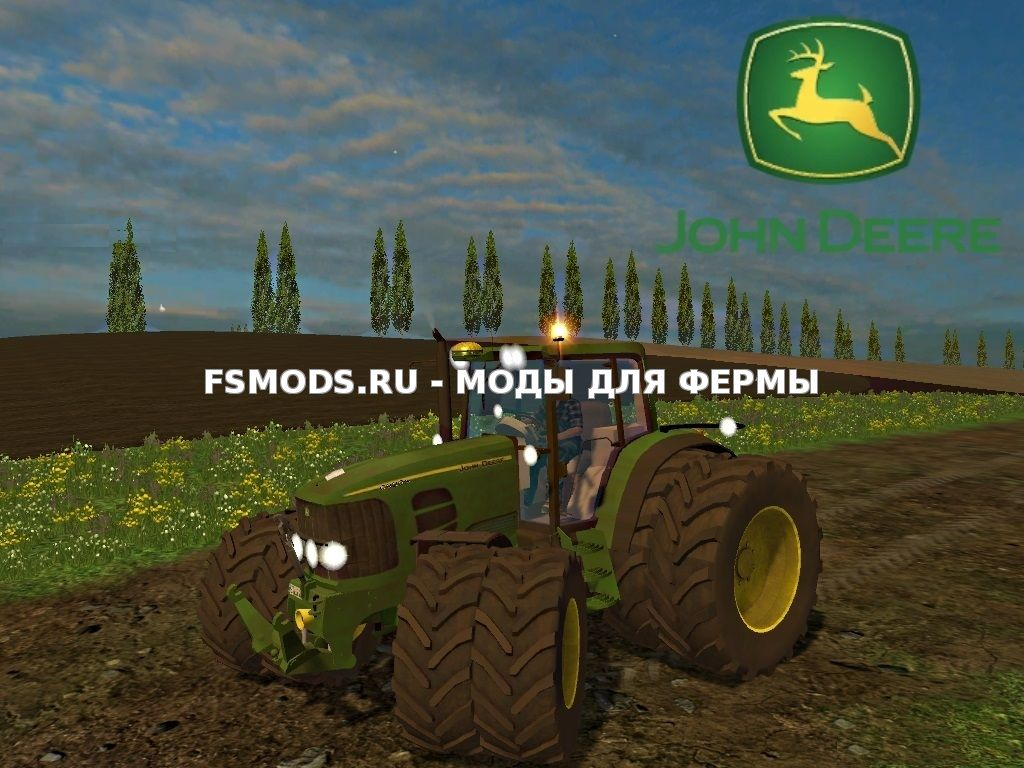 Скачать John Deere 6920S v1.0 для Farming Simulator 2015