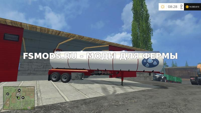 WATER TRAILER V1.0 для Farming Simulator 2015