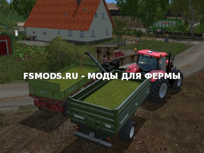 Скачать Brantner XL Uberladewagen v1.0 для Farming Simulator 2015