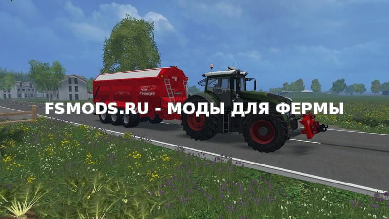 Krampe Bandit 800 v1.0 для Farming Simulator 2015