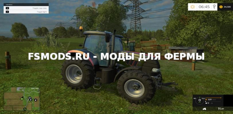 Скачать CASE PUMA 160 PLATINUM EDITION для Farming Simulator 2015
