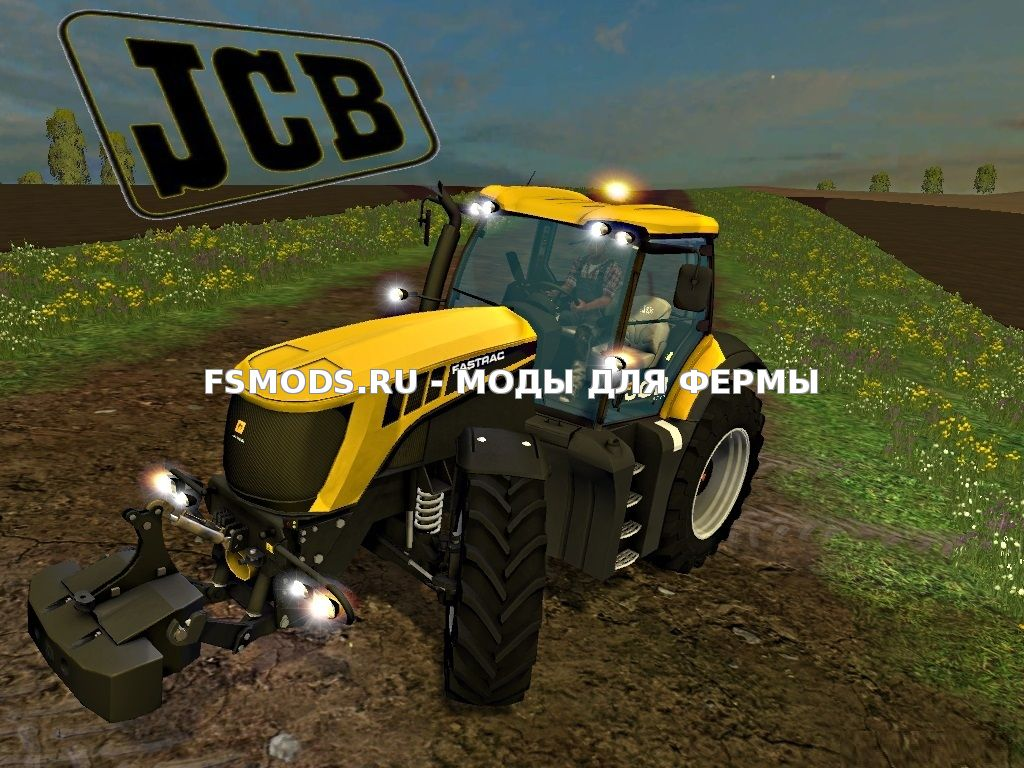 Скачать JCB 8310 v1.1 для Farming Simulator 2015