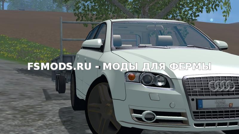 Audi A4 Avant Quattro v1.0 для Farming Simulator 2015