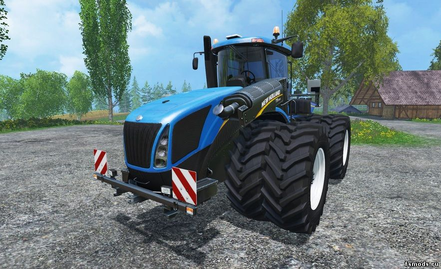 Скачать New Holland T9 565 DW v1.0 для Farming Simulator 2015