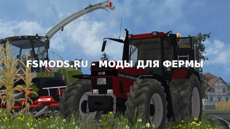 Скачать Case 1455 XL v1.0 для Farming Simulator 2015