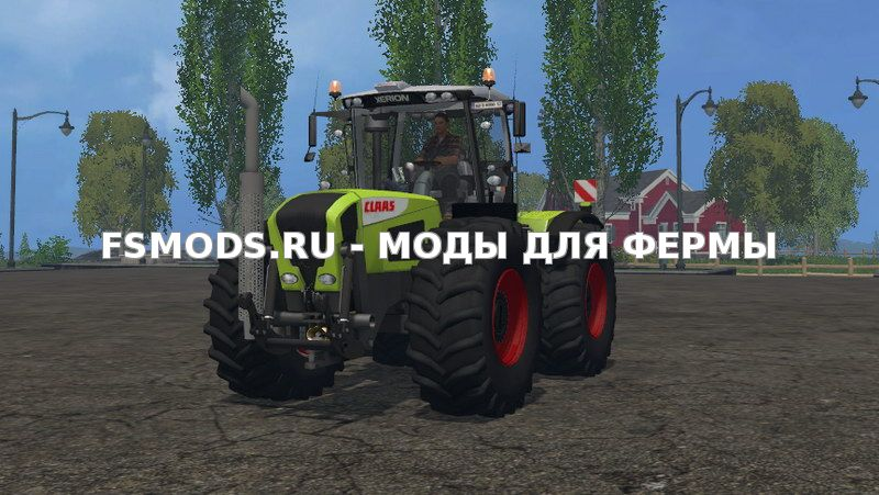 Claas Xerion 3800VC v2.0 для Farming Simulator 2015