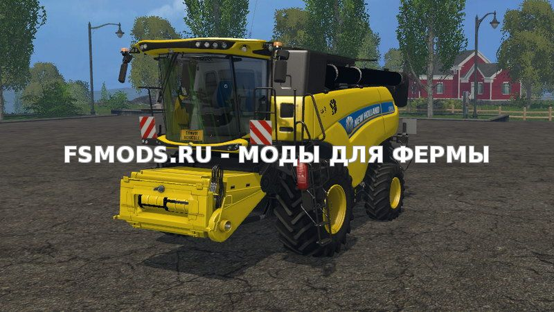 Скачать New Holland CR9.90 Yellow v 1.0 для Farming Simulator 2015