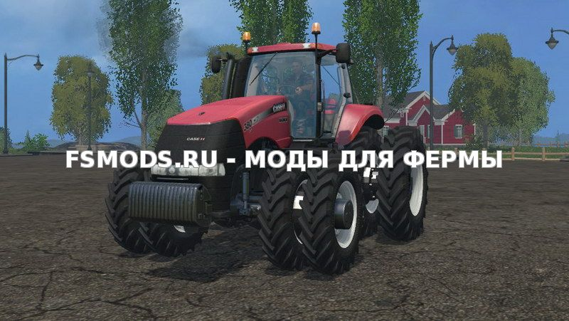 Case 380 with Row Crop Duals v1.0 для Farming Simulator 2015