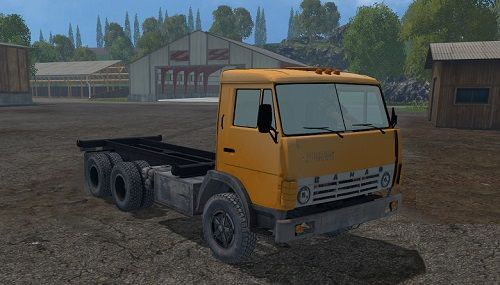 KamAZ-55102 для Farming Simulator 2015