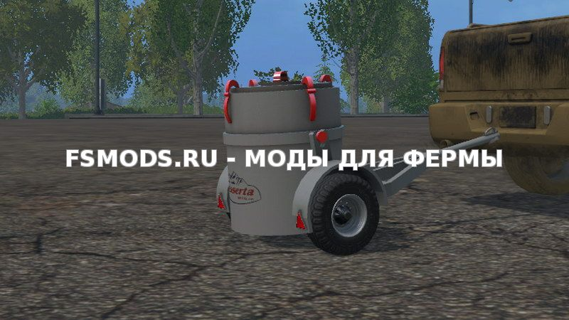 Small Milk Tank with trailer v 1.0 для Farming Simulator 2015
