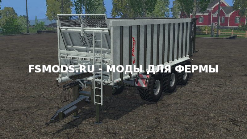 Скачать Fliegl ASW 381 V 1.0 для Farming Simulator 2015