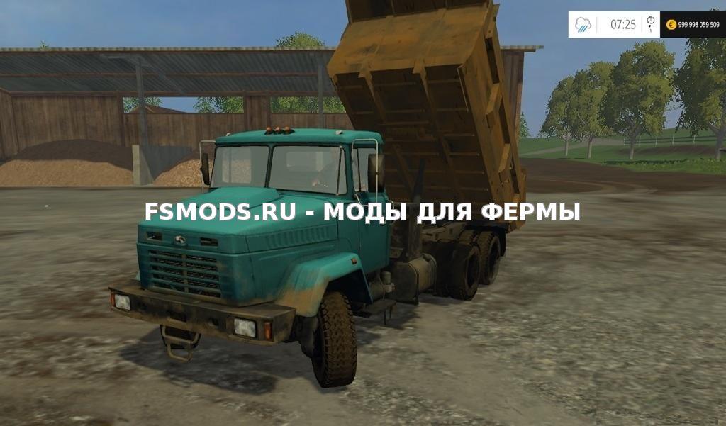 Скачать КрАЗ 6510 для Farming Simulator 2015