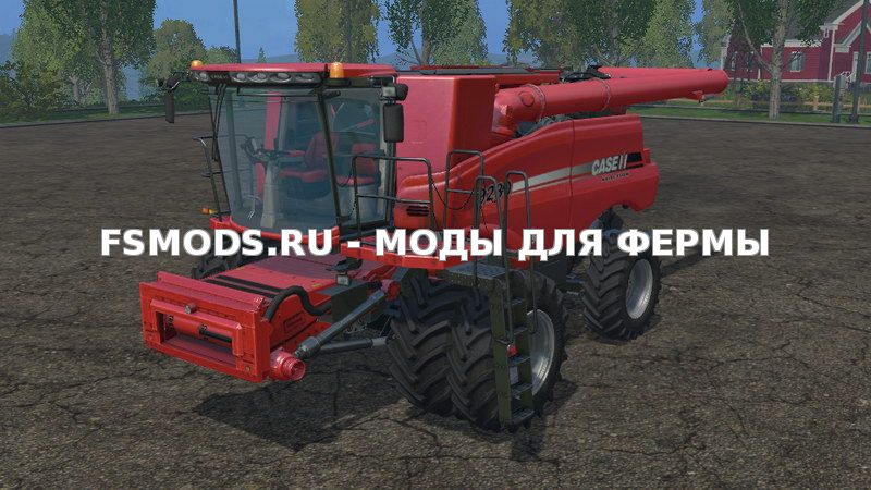 Скачать Case IH Axial Flow 9230 Twin Wheels v 1.1 для Farming Simulator 2015