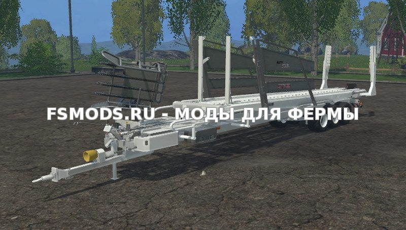 Скачать Arcusin Autostack FS 32 Bale v1.0 для Farming Simulator 2015