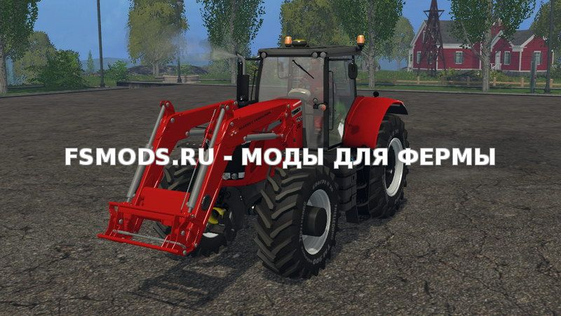 Massey Ferguson 7622 v2.5 для Farming Simulator 2015