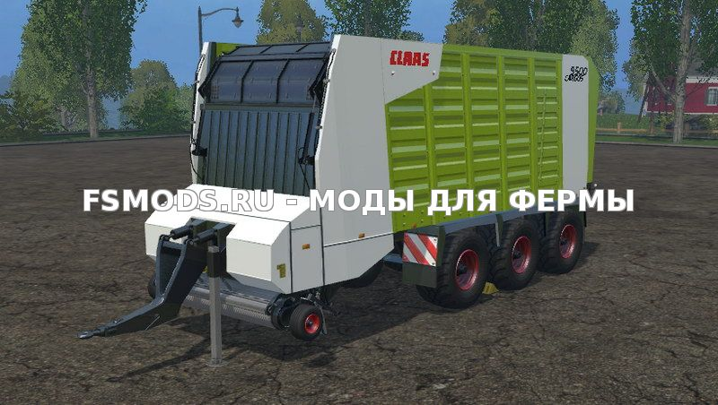 Скачать Claas Cargos 9500 v1.0 для Farming Simulator 2015