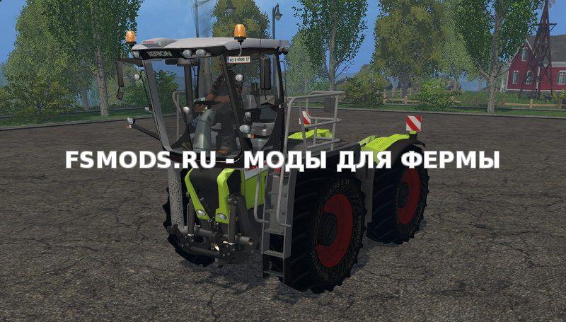 Скачать Claas Xerion 3800 SaddleTrac v2.0 для Farming Simulator 2015