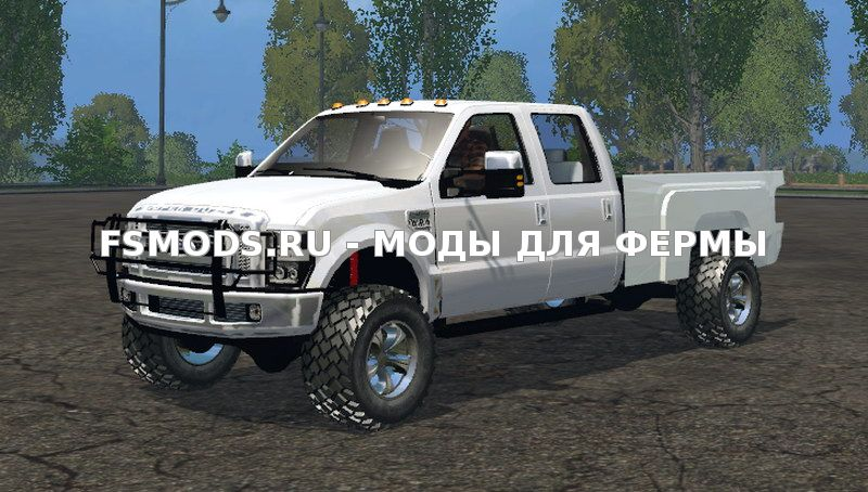 F350 Ford Diesel White v1.0 для Farming Simulator 2015