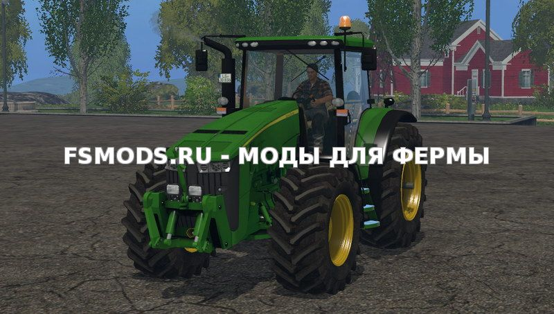 John Deere 8360R v3.0 для Farming Simulator 2015