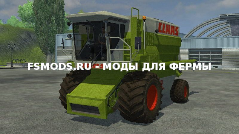 Claas Commandor 116CS v2.0 для Farming Simulator 2013