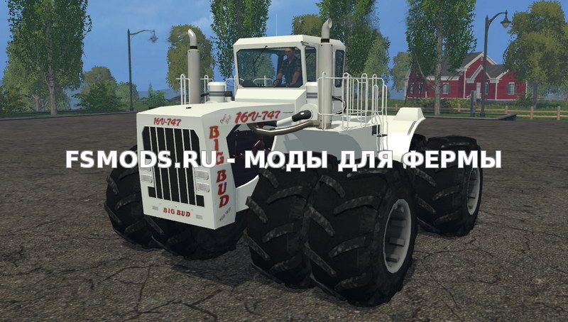 BIG BUD 16V 747 v2.0 для Farming Simulator 2015