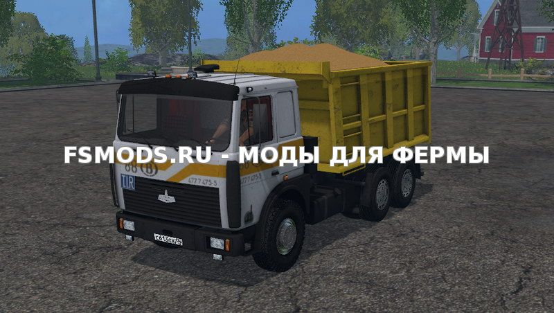 Скачать MAZ 5516 v2.0 для Farming Simulator 2015
