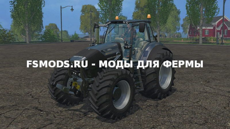 Deutz Fahr 7250 Warrior v3.0 для Farming Simulator 2015