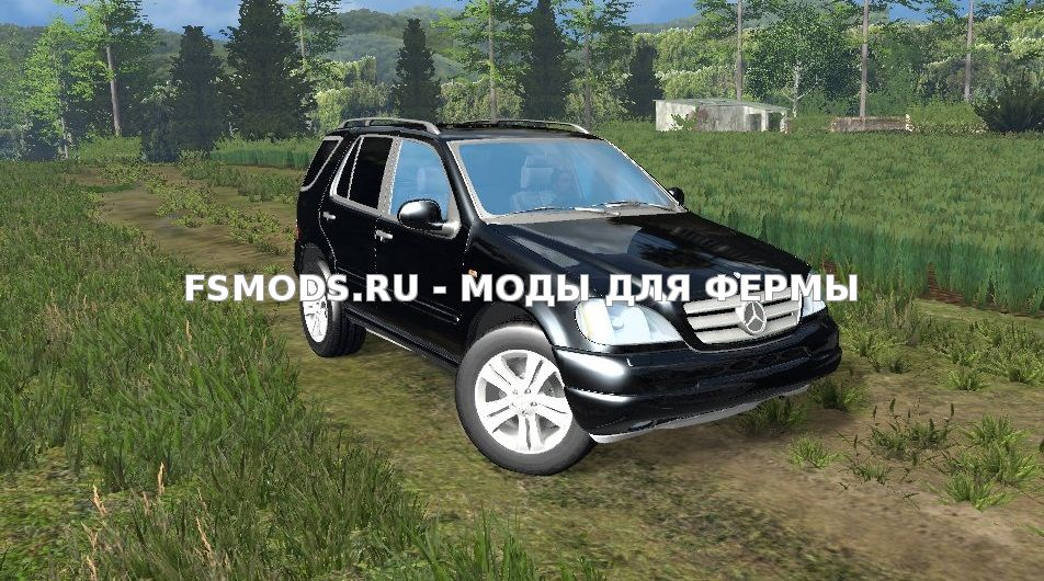 Mercedes Benz ML430 для Farming Simulator 2015